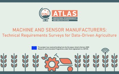 Machine and Sensor Manufacturers: Technical Requirements Surveys for Data-Driven Agriculture