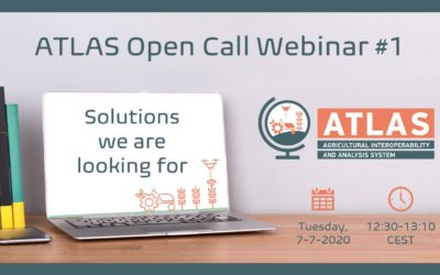 "Open Call Webinar #1 ""ATLAS challenges: solutions we are looking for"""