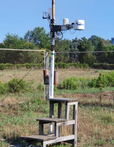 Weather station installation