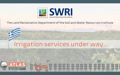 ATLAS Irrigation services under way…