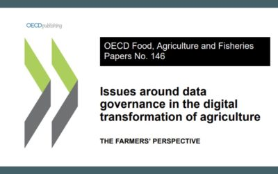 Issues around data governance in the digital transformation of agriculture