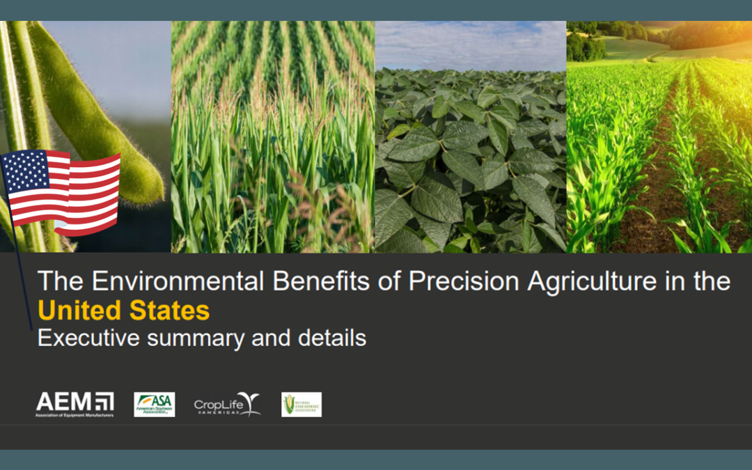 The Environmental Benefits of Precision Agriculture
