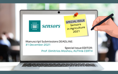 """Special Issue """"Sensors in Agriculture 2021"""" CALL FOR PAPERS"""